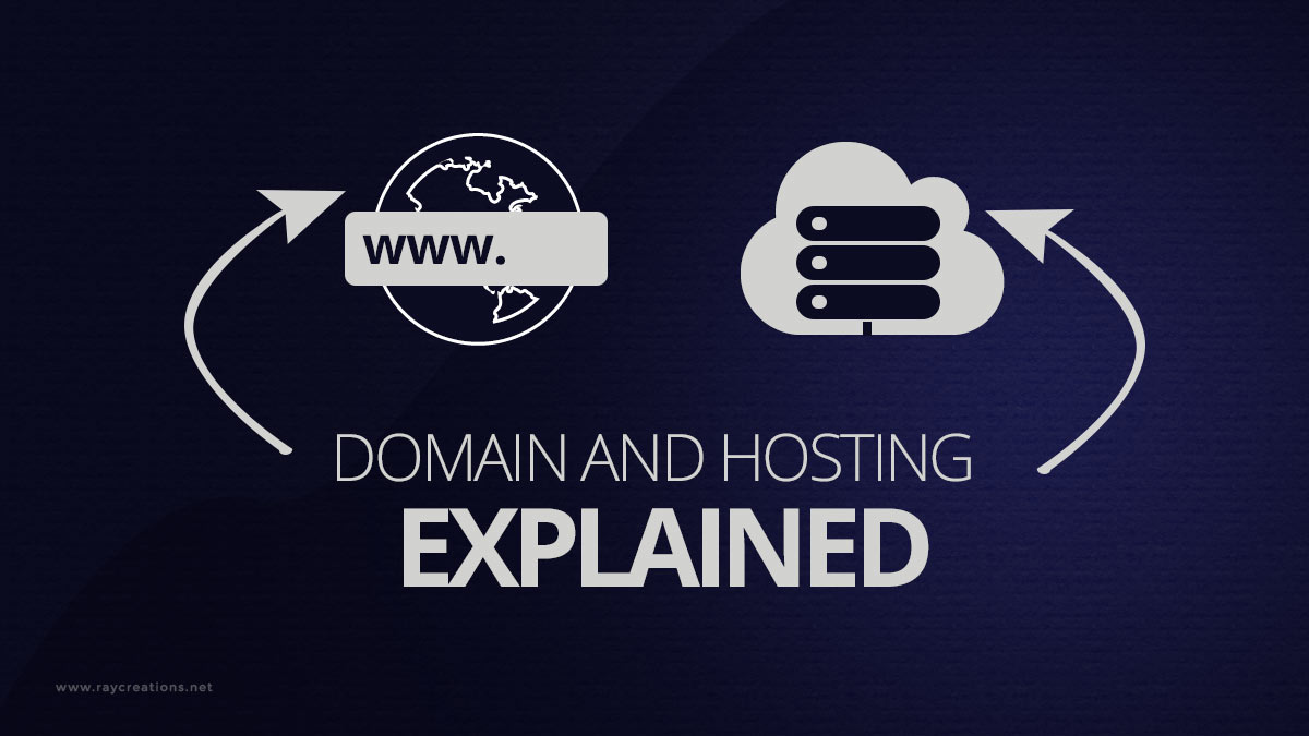 domain and hosting explained