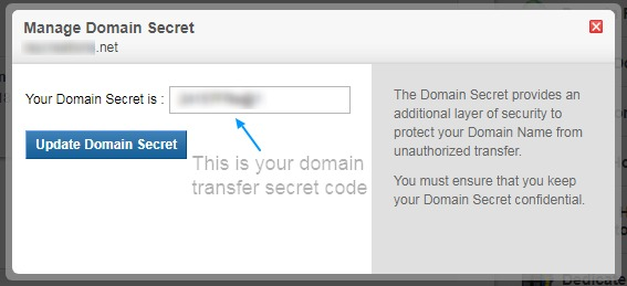 set domain secret - domain security